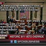 Happening Now: House vote to override @POTUS veto of 9/11 bill https://t.co/55IxEX2noH