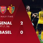 More fantastic stuff at the Emirates #AFCvBAS https://t.co/X1djb6ImOY