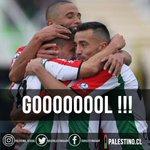 33 Gooooooooooooooool de cereceda!!!!! Vamos Palestino!!! https://t.co/uL6uXf1qtg