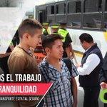 Se implementó el programa #TransporteEstatalSeguro por la seguridad de todos los Mexiquenses. #5oInformeEruviel https://t.co/Zh6bHczrPT