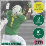 Arrion Springs continues to lock it down in the Oregon secondary 🚫✈️ https://t.co/baxgCumVzk