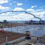 First slab being poured for #BalmoralQuays luxury townhouses - absolute waterfront living on its way to Geelong. https://t.co/6O4T2vyjUb