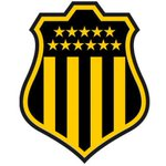 """Escudo del Club de fútbol Atlético Peñarol, """"Carboneros"""" o """"Mirasoles"""" compite en la Primera División de Uruguay. https://t.co/9aWrp7JIzO"""