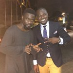 When the KING @sarkodie meet the Radio Commando @AbeikuSantana .. #Sarkcess #OkSantana https://t.co/Ezdei8ixLH