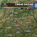 Wet weather tonight? Nope. @cbs46 #gawx https://t.co/RCu3R2AbNa