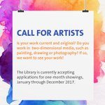 Artists, see your work here in 2017! Apply by Sept 30, details here: https://t.co/pWDAX0a4cz #newwest #artsnewwest https://t.co/BGX5KtgYz3