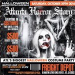 #Atlantahorrorstory wildest night for Halloween .. 💀 Everyone in costumes free untill 11 ‼️ #Goddessofatl https://t.co/seeb1HsOjc