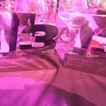 We have the winningest table at #T3Awards. https://t.co/79qTiQiOgk