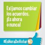 #EsHoraDeVotarNo Colombia Despierta, es por nuestro futuro. Votemos NO https://t.co/5ocapEkR9W