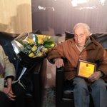 Moreno, el socio más antiguo de Peñarol a sus 103 años de vida junto a su señora https://t.co/nKO2nQAlcl