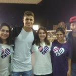 Nós convidamos e eles vieram! @GreenpeaceBR na Vila Belmiro! #SANxINT #SantuárioEuApoio 💙🐳 https://t.co/6Z3yEGCDkT