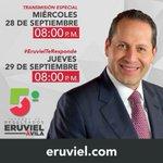 Sintoniza la transmisión en vivo del #5oInformeEruviel a las 20:00hrs #GobiernoQueTrabajaYLograEnGrande https://t.co/I6NIMapQqy