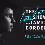 Going to be on @latelateshow with @JKCorden tonight! Tune in guys! https://t.co/R7YNz1B8A7