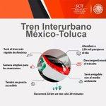 El Tren Interurbano Mex-Tlc obra del Gob Federal @EPN @gruizesp una vez concluido atenderá a 230mil pasajeros al día https://t.co/wU5Je0g8Mz
