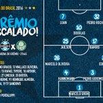 TRICOLOR ESCALADO! Pra cima deles, Grêmio! #CopaDoBrasil2016 #PraCimaDelesGrêmio #GRExPAL #DiaDeGrêmio https://t.co/UzIUPMnsxH