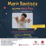 Un chico con Gran Humildad❤ @mariobautista_ #MarioBauSePoneNarizRoja https://t.co/x3vdYgWIcr