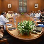 The Prime Minister chairs a meeting of the CCS. https://t.co/RtiTGlWkfU