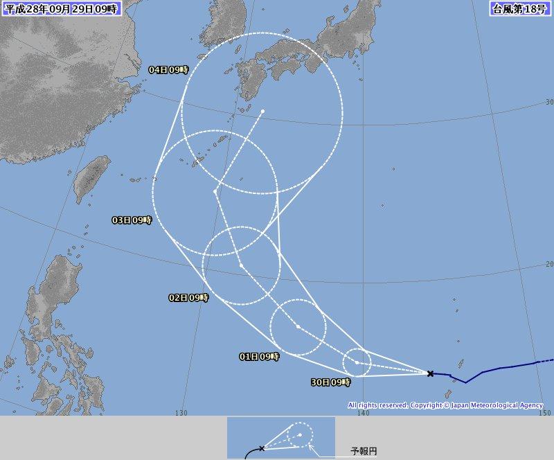 台風18号は来週前半に四国に接近し、高知に上陸する恐れも出てきました。今後の情報にご注意ください。 朝日新聞デジタル台風情報:https://t.co/WbhaG4Vuys https://t.co/gigLIcnNmc
