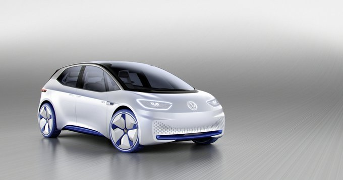 Autoblog @TheRealAutoblog: Here is Volkswagen's all-electric I.D. with 373 miles of range https://t.co/PmZrPoRORj https://t.co/uI3cvE0sEy