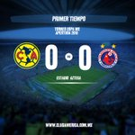 10 @ClubAmerica 0-0 @ClubTiburones #VamosAmérica https://t.co/Z7h86V2lgF