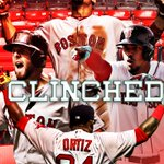 Red Sox clinch!   Boston claims the AL East for the 3rd time since 2007 (won World Series previous two instances). https://t.co/C68A4r6GVK