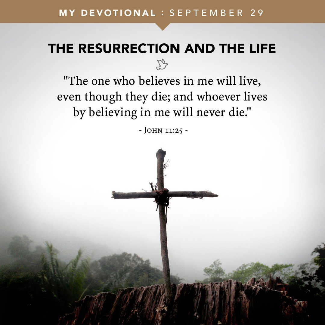 There is no other way to be raised from death to life than to trust in Jesus: https://t.co/d2k0LvD7dQ #LTWDevotional https://t.co/iXNay7JbvP