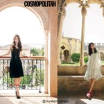 YoonA in Dubai vs YoonA in Spain  same same but different different ^^ https://t.co/IKgqOcBwG7