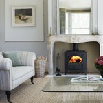 Hot Tip! A stylish stove can make for a great focal point so why not pair with a cool calm colour scheme #livingroom https://t.co/tj1GkKZUhu