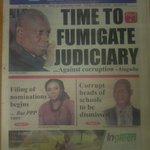 Ghanaian Times:Time to fumigate judiciary against corruption-Atuguba Filing of nomination begins today but PPP sues https://t.co/bS15suCfUc