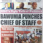 Also in the Daily Statesman: Mills people cry out - @JDMahama and NDC have neglected us #CitiCBS https://t.co/BlVgjprmQP