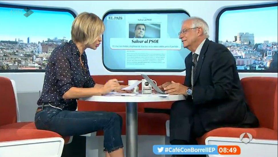 "Borrell: ""Según nuestro estatuto, les guste o no, hay que crear un congreso extraordinario"" #CaféConBorrellEP https://t.co/txeWfYMtAL"
