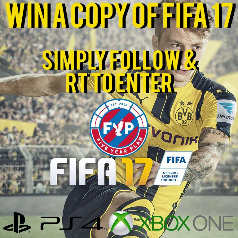 We have a copy of #FIFA17 to give away. RT & follow us for a chance to win! Winner announced tonight! https://t.co/NF7KTfIkzH