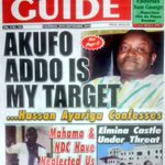 Also in THE NEW CRUSADING GUIDE: @JDMahama & NDC have neglected us..Mills people cry #MorningStarr https://t.co/1qRN6uvrAM