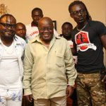 .@NAkufoAddo receives copies of Praye's campaign songs [Photos] |More here: https://t.co/zOp8wtA2kd #CitiCBS https://t.co/GzPh6MLkO4