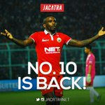 Its over, Persipura. We got our man back! Welcome home Greg Nwokolo! #Persija https://t.co/mhfDMVSA6S