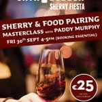 Still time to book in for my tasting tomorrow in @cavagalway as part of @sherryfestival https://t.co/wL3x0rA7Pv