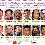 #OKFBD Ambassador @nhasive today talk at Bangladesh Dialogue on Internet Governance program by #Bangladesh #Internet Governance Forum. https://t.co/G6gwUEngAU