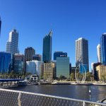 Meet you on the bridge! #more details soon ... Busy in EQ - given the gorgeous sunshine #Perth https://t.co/hkDO1LyRrz
