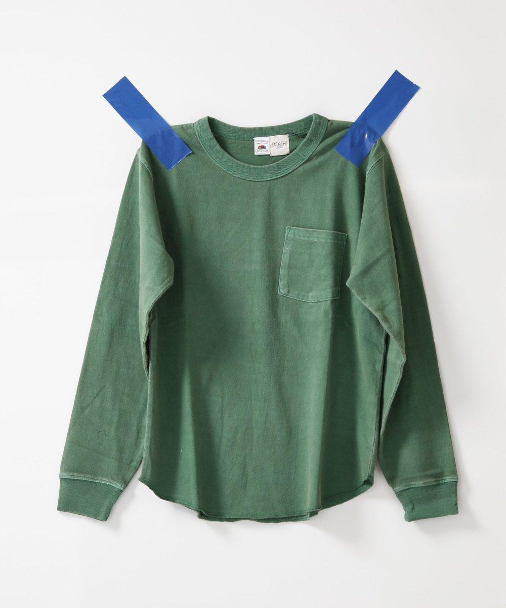 アメリカの老舗ブランドFRUIT OF THE LOOMに制作を依頼した長袖ポケットTシャツ♪ZOZOTOWN店→https://t.co/JbKwM6K30I https://t.co/QhGDKaQPEJ