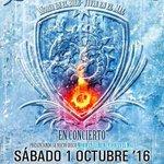 Recuerda Saratoga en concierto mañana viernes  día 30 Moralzalzal , sábado día 1 Valencia . https://t.co/aFCOjbjudP