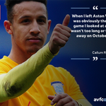 In quotes: @CallumRobbo37 relishing #AVFC reunion this weekend as he comes up against us with @PNEFC. https://t.co/bGNrTuBDMN