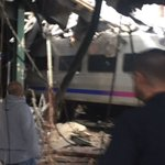 3 reportedly killed, 100 injured when commuter train hits New Jersey station. https://t.co/zOhDJpHg8a https://t.co/8I7RDc3Zjx