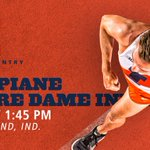 MEET DAY! The #Illini are in South Bend for the Joe Piane Invite! The men's blue race begins at 1:45 p.m. CT https://t.co/VlHmthJoKY