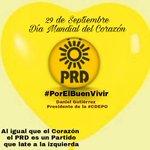 #SabiasQue Hoy se Celebra #DiaMundial del Corazón en el @PRDOax siempre hemos latido hacia la #Izquierda @PRDMexico https://t.co/dz1acCHC80