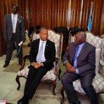 Llega Vpte. cubano Salvador Valdés Mesa a Botswana para participar en actividades x 50 aniversario de independencia https://t.co/tciFnH3P3L