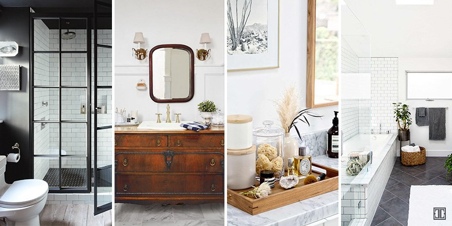 How to redo bathroom