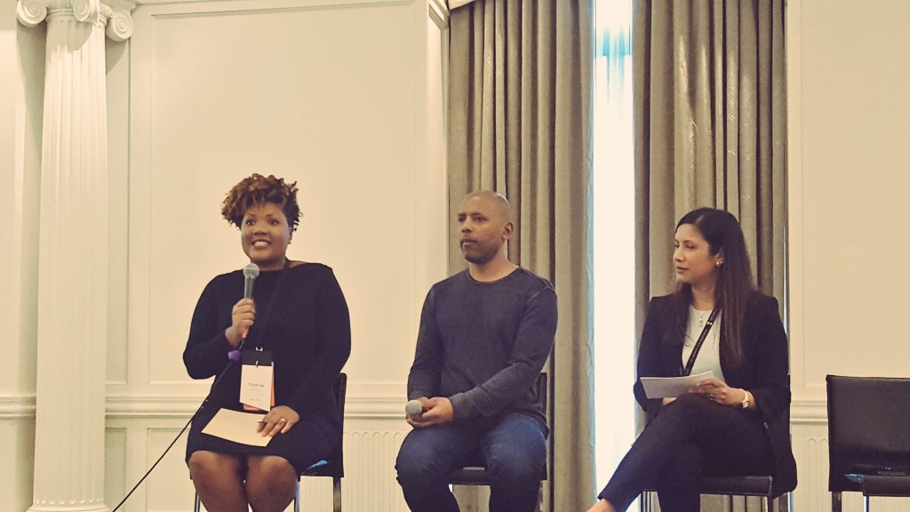 """Diversity is a fact, #inclusion is a practice and equity is the goal,"" says @TonyaMosley #comnet16 https://t.co/OFcsqdBQJT"