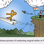 India releases pictures of surgical strike inside Pakistan..... :)) https://t.co/Fx1Y94Ibpd