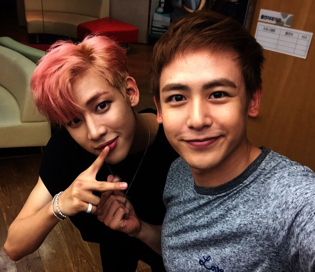 With @BamBam1A the Thai line! ^^ https://t.co/dWl1zGxATd