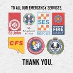 Thank you to all of our Emergency Services! 👏🏼@SA_SES @SAPoliceNews @SA_MFS @stjohn_sa @SurfLifeSA @SA_Ambulance https://t.co/T7EJfQdKcB